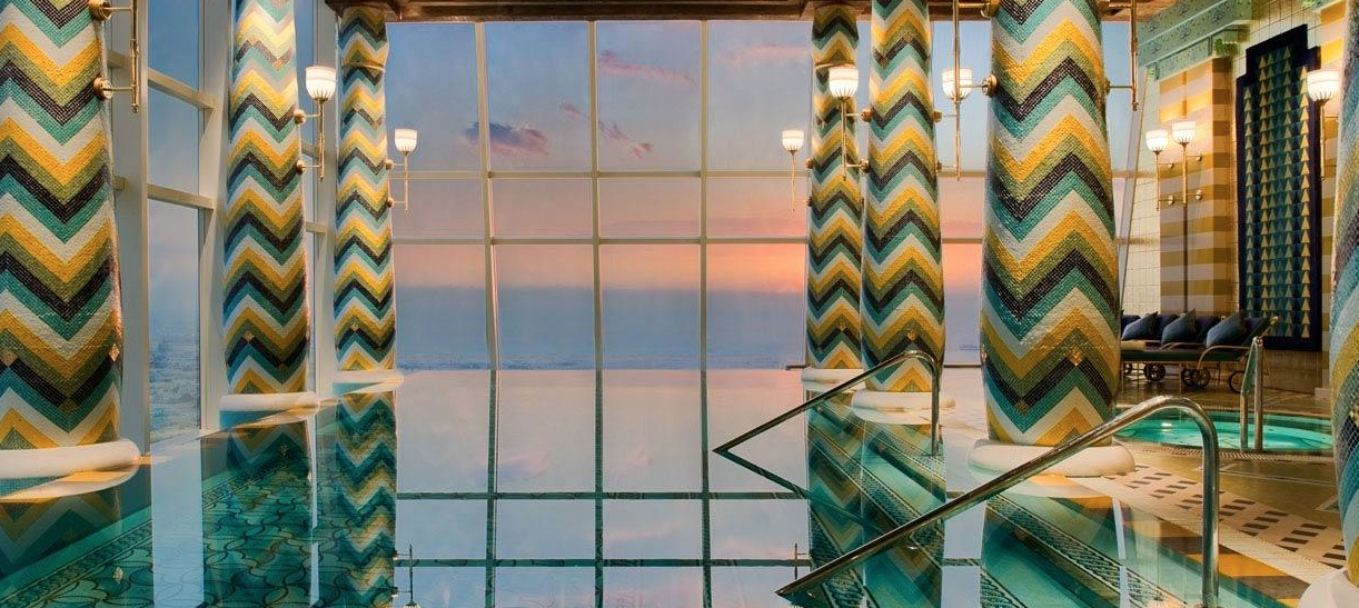 Hotel Burj Al Arab em Dubai e seu luxuoso SPA