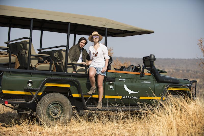 safari de luxo