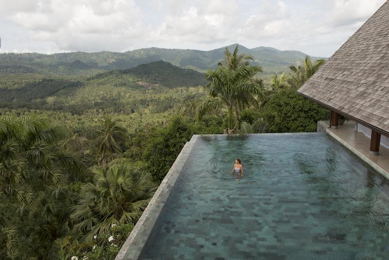 Resort de luxo na Tailândia