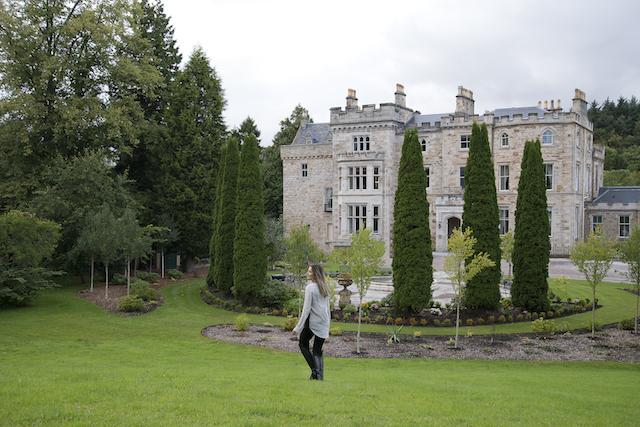 hotéis e castelos na Escócia